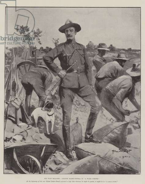 His Wish realised, Colonel Baden-Powell in