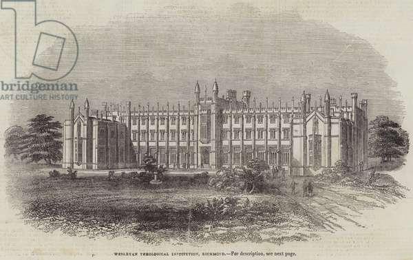 Wesleyan Theological Institution, Richmond (engraving)