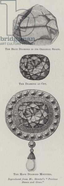 The Hope Diamond (litho)
