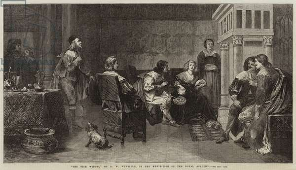 The Rich Widow (engraving)