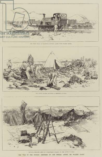 The War in the Soudan (engraving)