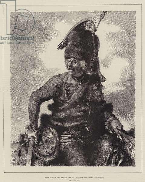 Hans Joachim von Zieten, one of Frederick the Great's Marshals (engraving)