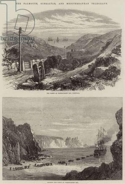 The Falmouth, Gibraltar, and Mediterranean Telegraph (engraving)