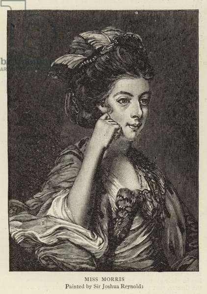 Miss Morris (engraving)