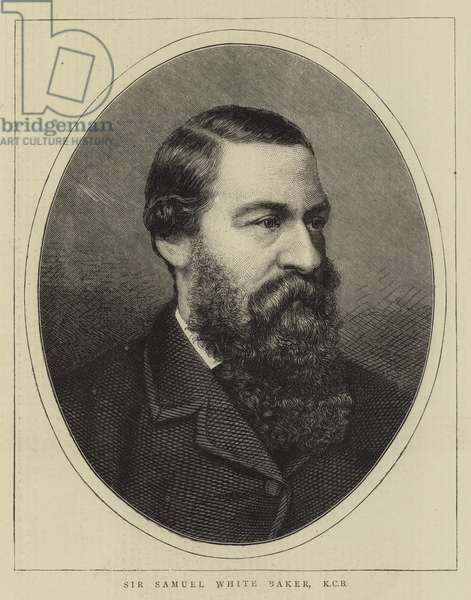 Sir Samuel White Baker, KCB (engraving)