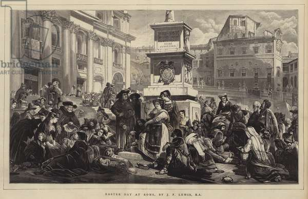Easter Day at Rome (engraving)