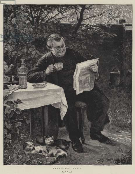 Election News (engraving)