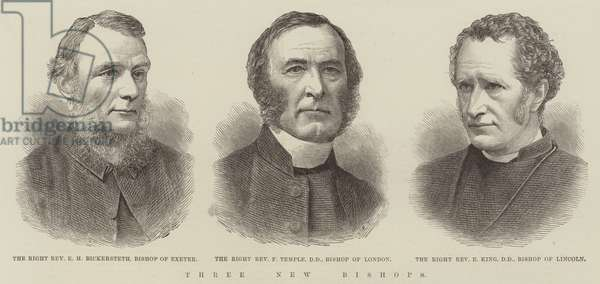 Three New Bishops (engraving)