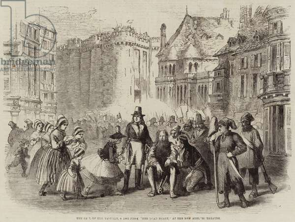 The Fall of the Bastille, Scene from