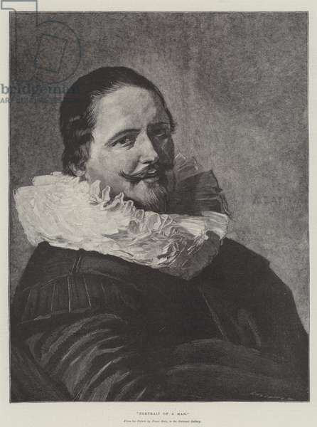 Portrait of a Man (engraving)