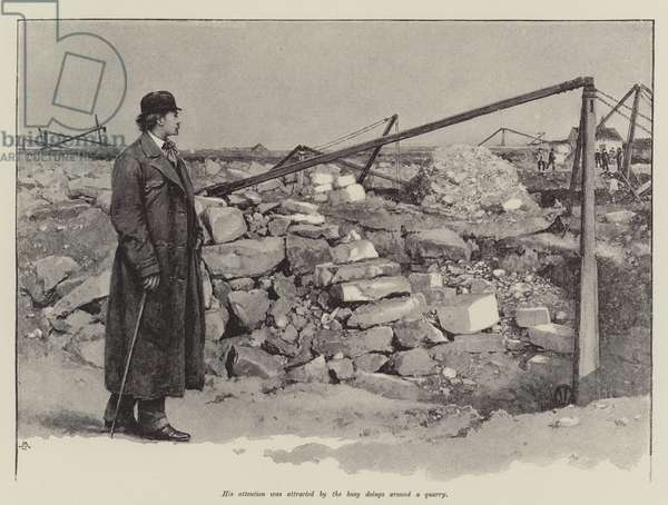 The Pursuit of the Well Beloved, by Thomas Hardy (litho)