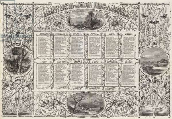 Illustrated London News Almanack (engraving)