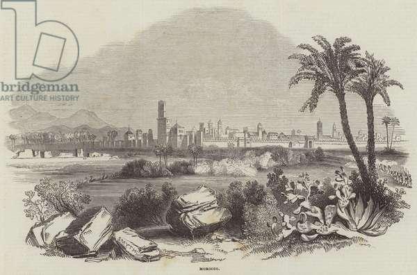 Morocco (engraving)