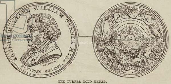 The Turner Gold Medal (engraving)