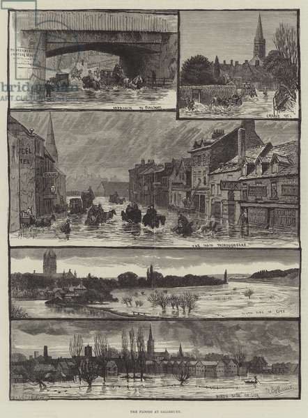 The Floods at Salisbury (engraving)