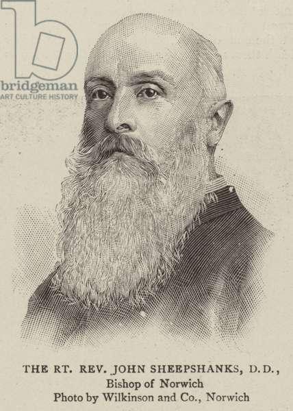 The Right Reverend John Sheepshanks, DD (engraving)