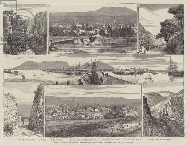 Views in the Cape Colony (engraving)