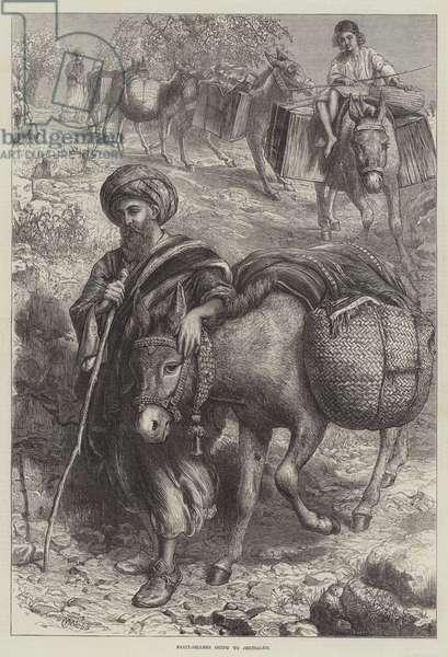 Fruit-Sellers going to Jerusalem (engraving)