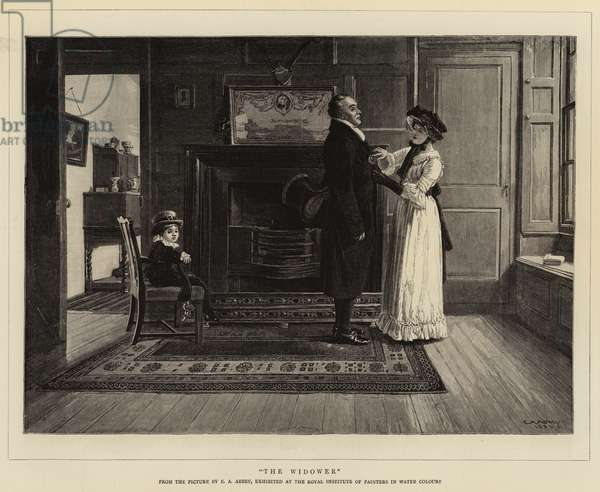 The Widower (engraving)