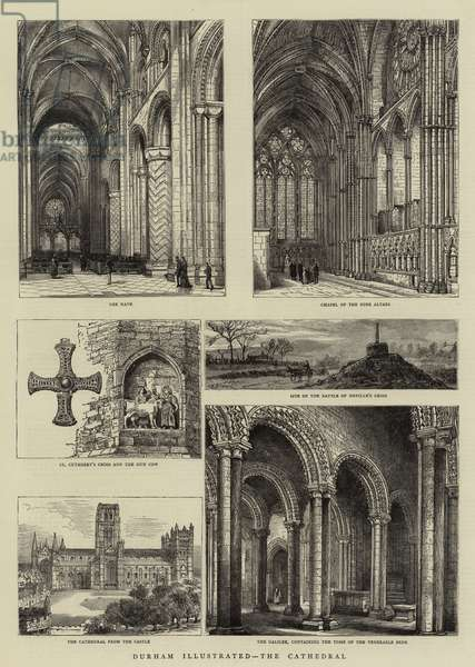 Durham Illustrated, the Cathedral (engraving)