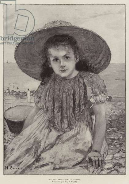 On the Beach (engraving)