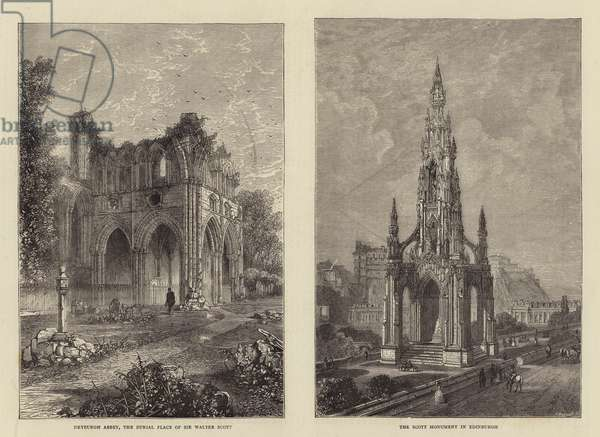 Sir Walter Scott Centenary (engraving)