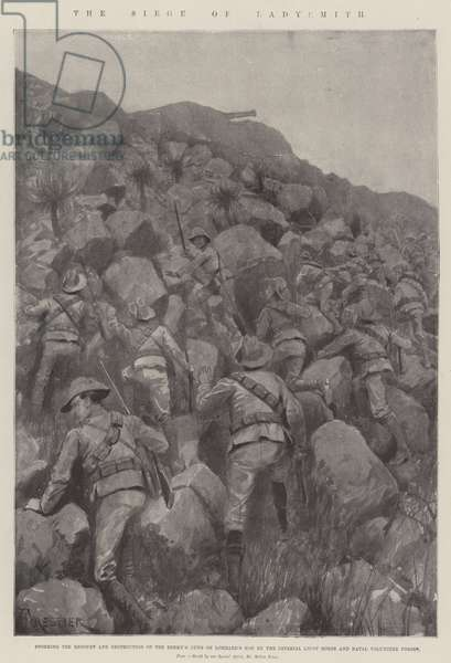 The Siege of Ladysmith (litho)