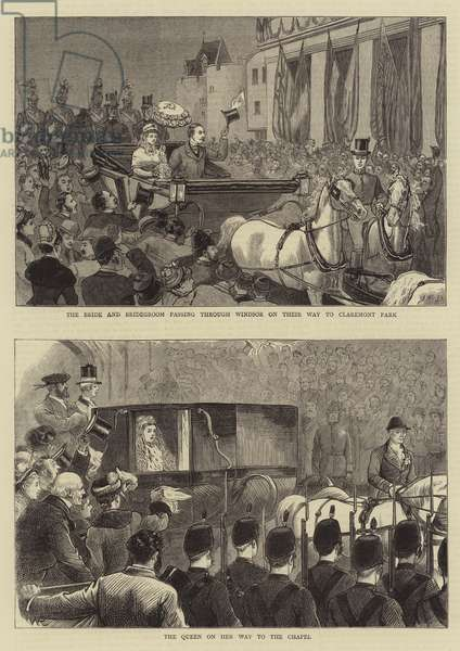 The Marriage of the Duke of Connaught (engraving)