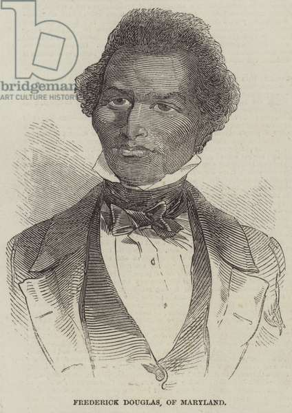 Frederick Douglass, of Maryland (engraving)