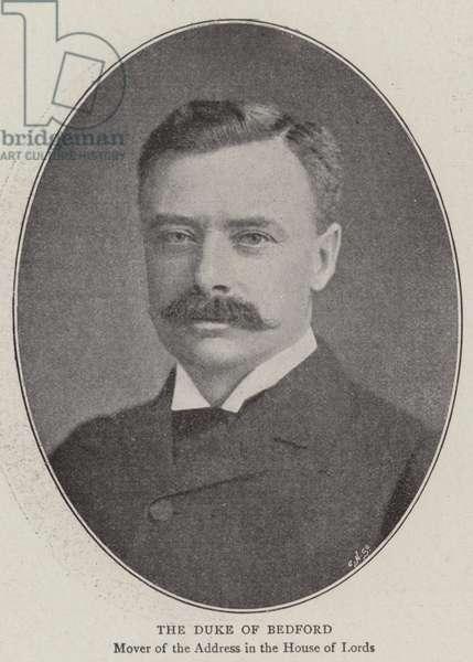 Duke of Bedford (b/w photo)