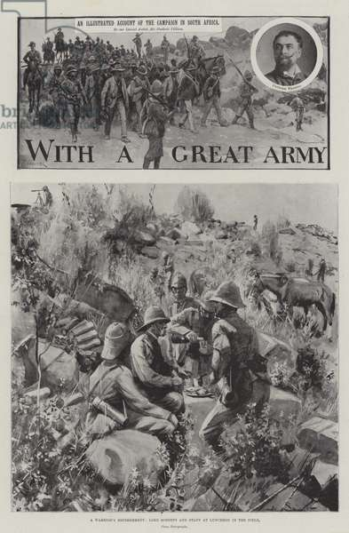 With a Great Army (litho)