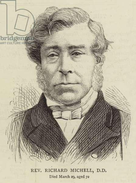 Reverend Richard Michell, DD (engraving)
