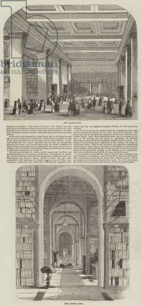 The Library of the British Museum (engraving)
