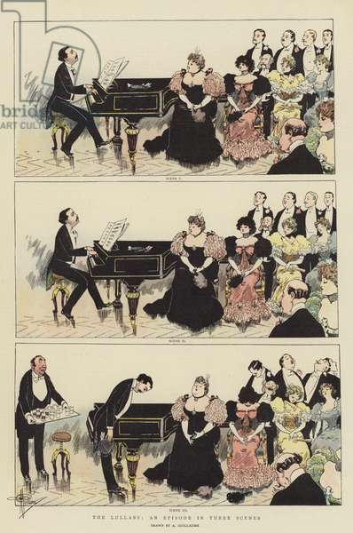 The Lullaby, an Episode in Three Scenes (chromolitho)