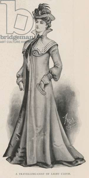 A Travelling-Coat of Light Cloth (litho)