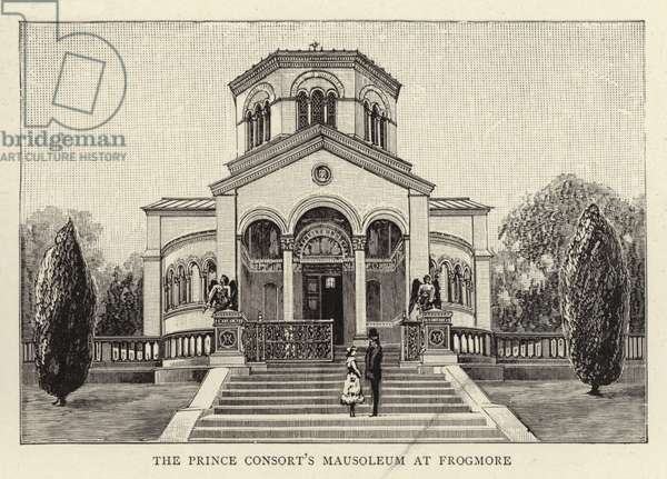 The Prince Consort's Mausoleum at Frogmore (engraving)