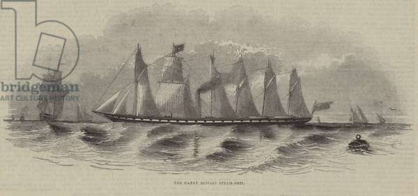 The Great Britain Steam Ship (engraving)