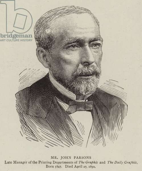 Mr John Parsons (engraving)