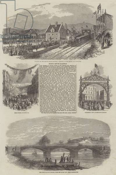 North Devon Railway (engraving)