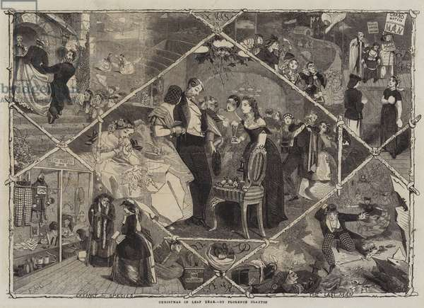 Christmas in Leap Year (engraving)