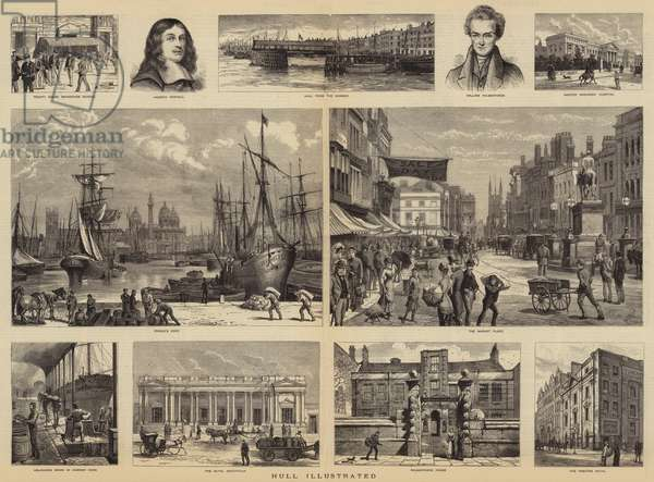 Hull Illustrated (engraving)