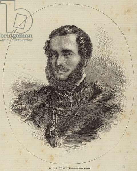 Louis Kossuth (engraving)