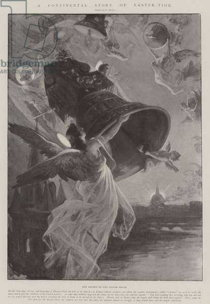 A Continental Story of Easter-Tide (litho)