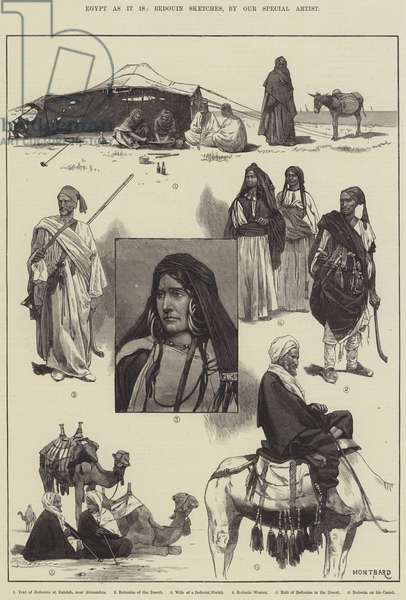Egypt as it is, Bedouin Sketches (engraving)