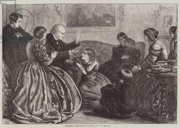 Christmas Story-Telling (engraving)