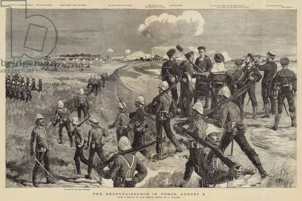 The Reconnaissance in Force, 8 August (engraving)