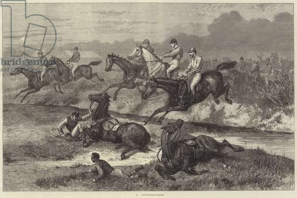 A Steeplechase (engraving)