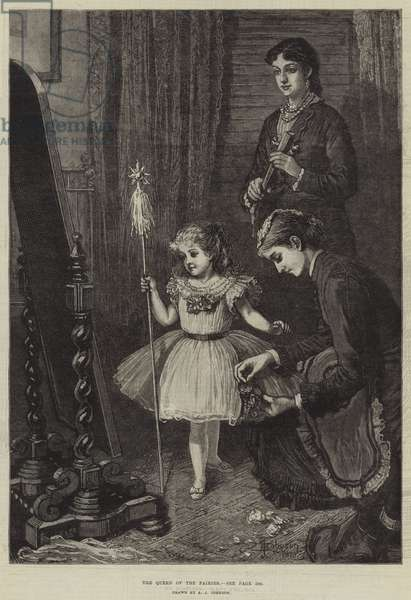The Queen of the Fairies (engraving)