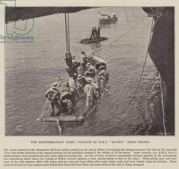 The Mediterranean Fleet, Pinnace of HMS