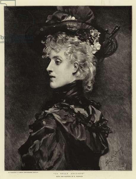 La Belle Anglaise (engraving)
